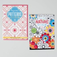 Adult Coloring Book - Nature and Patterns Case Pack 48