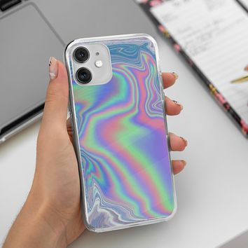 Hologram Holographic Style iPhone 12 Case