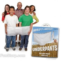 The World's Largest Underwear   Really Funny Props   FunSlurp.com