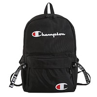 Champion Fashion Women Men School Backpack Travel Bag