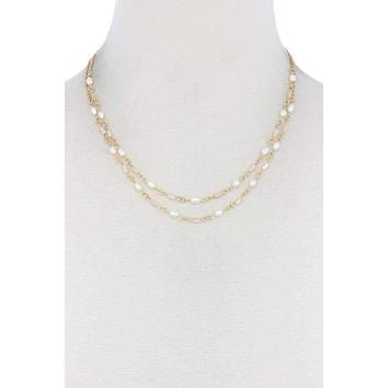 14K Yellow Gold Vintage Coin Necklace