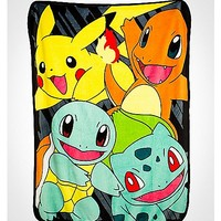 Pokemon Classic Group Fleece Blanket - Spencer's