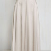 Tulle True Skirt in Taupe | Mod Retro Vintage Skirts | ModCloth.com