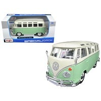 Volkswagen Van Samba Bus 1:25 Diecast Model Car by Maisto