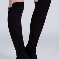 Major Stems Faux Suede Boots GoJane.com