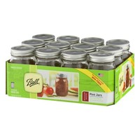 JARDEN HOME BRANDS 61000 Ball 12Pack Pint Mason Jar - Walmart.com