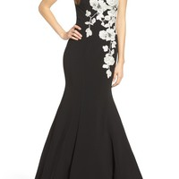 Jovani Embellished Mermaid Gown | Nordstrom