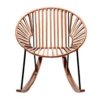 Chapultepec Rocking Chair in Leather