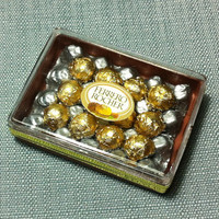 Chocolate Valentine Box Miniature Clay Polymer Food Supply Sweet Candy Cute Tiny Small Plastic Case Gift Dollhouse Jewelry Beads Supplies