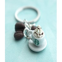 Starbucks Coffee Keychain