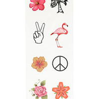 Palm Springs Finger Tattoos - Jewelry  - Bags & Accessories