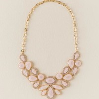 Darcie mixed shape statement necklace