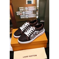 Louis Vuitton Lv Frontrow Sneakers 16a17xc45