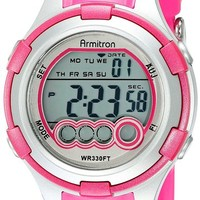 Armitron Sport Women's 45/7053MAG Digital Watch With Resin Band