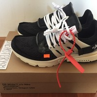 The Ten: Nike Air Presto X Virgil Abloh Off White US 9 UK 8 EU 42.5 AA3830-001