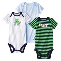 Just One You™Made by Carter's® Newborn Boys' 3 Pack Bodysuit - Green