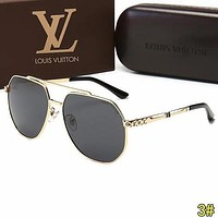 Louis Vuitton LV Trending Men Summer Sun Shades Eyeglasses Glasses Sunglasses