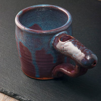 Wake and Bake Ceramic Pipe Mug - Degenrate Krafts, Glass Pipe, Wakenbake by Topboro