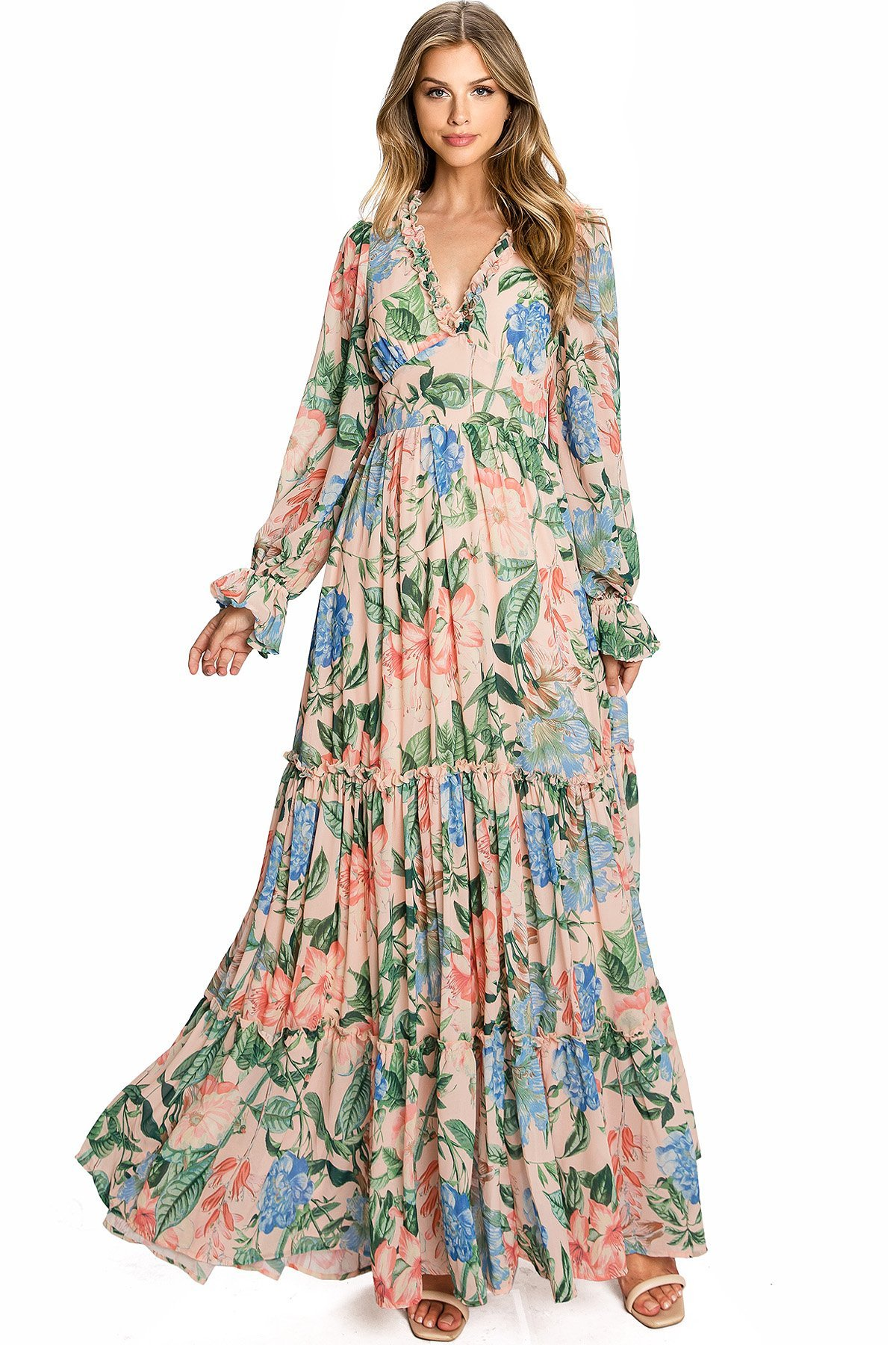 Image of Kindred Bloom Maxi Dress