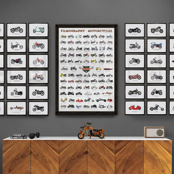 Collector's Box - The Filmography of Motorcycles - Calm The Ham