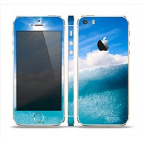 The Sunny Day Waves Skin Set for the Apple iPhone 5s