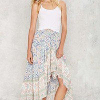 Miss June Bali Asymmetric Skirt