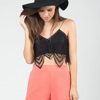 Lace Overlay Bralette