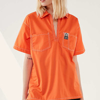MadeMe/X-girl Plunging Workwear Shirt | Urban Outfitters