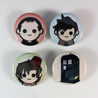 Doctor Who Pins