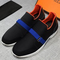 Hermes Fashion Casual Sneakers Sport Shoes