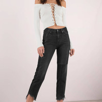 Hidden Jeans Ayla Two Tone Denim Pants