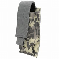 Military Tactical Pistol Magazine Pouch Knife Flashlight Sheath Hunting Molle Bag Cartridge Clip Belt Holster