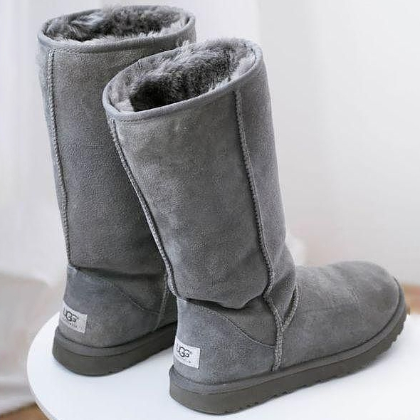 Image of UGG High Top Mink Fur Women Boots Shoes