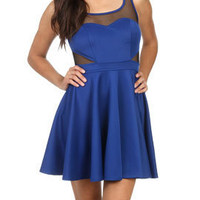 Mesh Fit N Flare Dress | Shop Arden B. | Homecoming at Arden B
