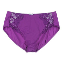 Elomi Womens Amelia Lace Trim Full Coverage Brief Panty