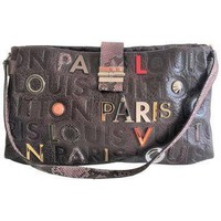 Tagre™ louis-vuitton-lutece-shoulder-bag-in-monograme-collage-limited-edition-lv-purse number 1