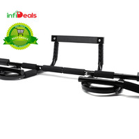CXP Chin Pull Up Bar Mounted Doorway Extreme Home Gym Fitness Workout - ²C84WC