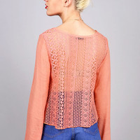 Ethereal Net Blouse