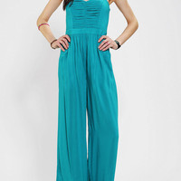 Urban Outfitters - Sparkle & Fade Pleated-Bodice Strapless Jumper