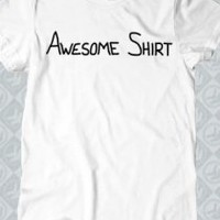Awesome Shirt T-Shirt - Smosh T-Shirts - Official  Online Store on District Lines