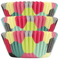 Bright Honeycomb Baking Cups