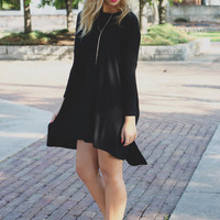 Near & Far Tunic - Black