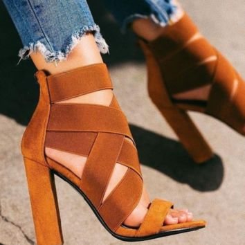 Hot style hot sale of all - around strap women's high heels