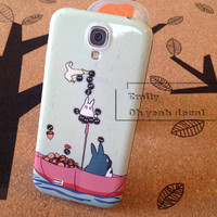Samsung Galaxy S4 Decal Stickers  Decals New Totoro Mint Green gift surprise for her him present design lovely