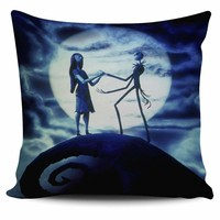Nightmare Before Christmas Pillow Cover