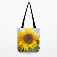 sunflower photography  Tote Bag by Color and Color