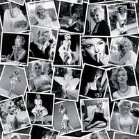 Marilyn Monroe Collage Celebrity Poster by Sam Shaw