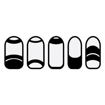 Less is More - Nail Wraps (Set of 22)
