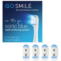 GO SMiLE® 'Dental Pro - Sonic Blue' Replacement Brush Heads   Nordstrom