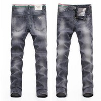 Armani Trending Men Casual Denim Pants Trousers Jeans